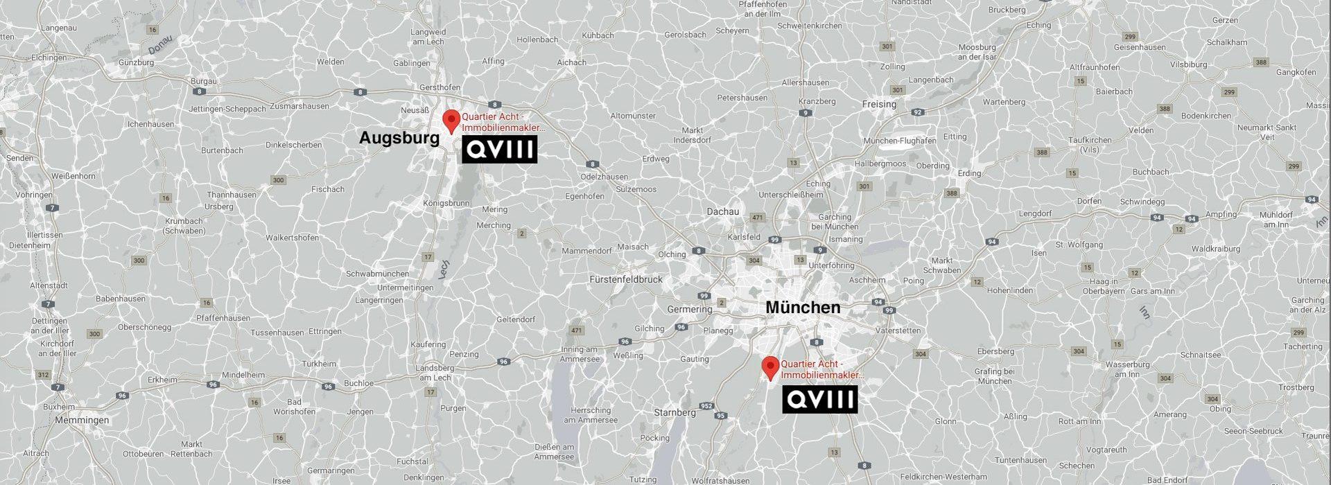 Quartier 8 Map